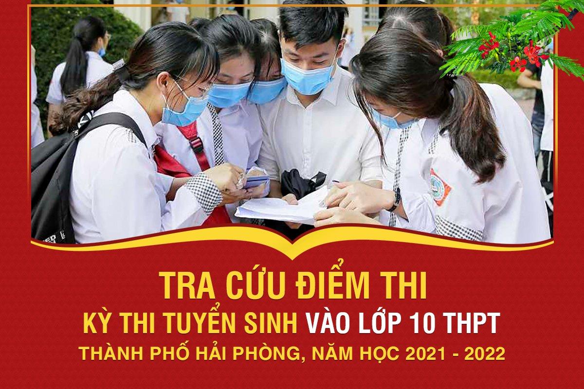 (Tin khẩn) : Tra cứu kết quả thi tuyển sinh vào lớp 10 THPT Năm học 2021 - 2022