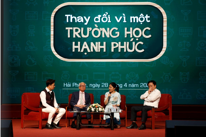 Hội thảo Thay đổi vì một trường học hạnh phúc tại thành phố Hải Phòng