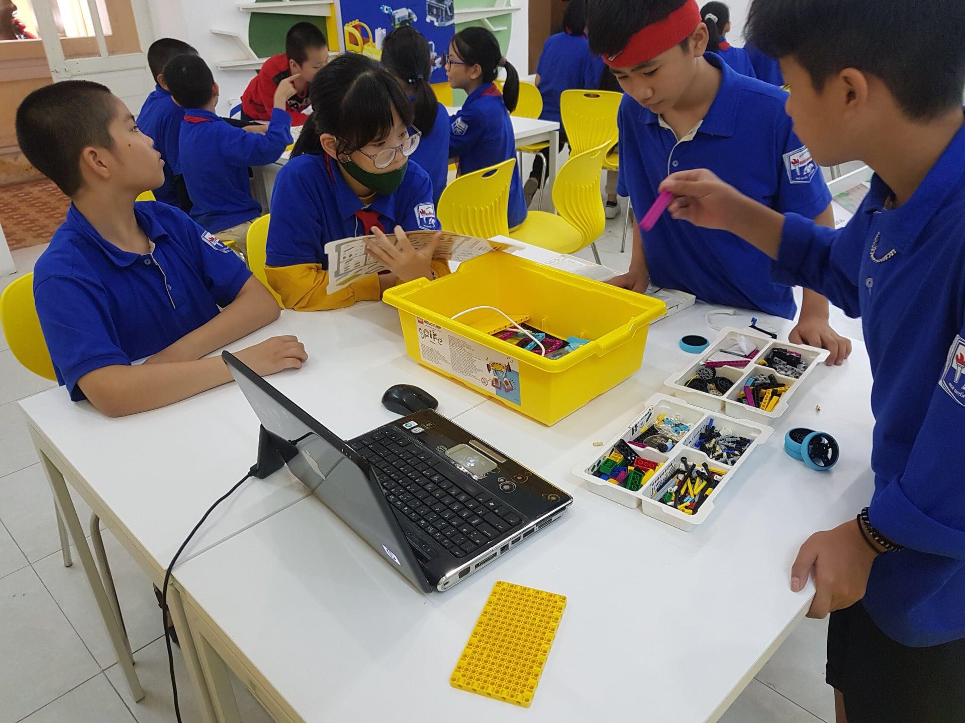 Hải Phòng: Tiếp cận LEGO Education trong dạy học STEAM