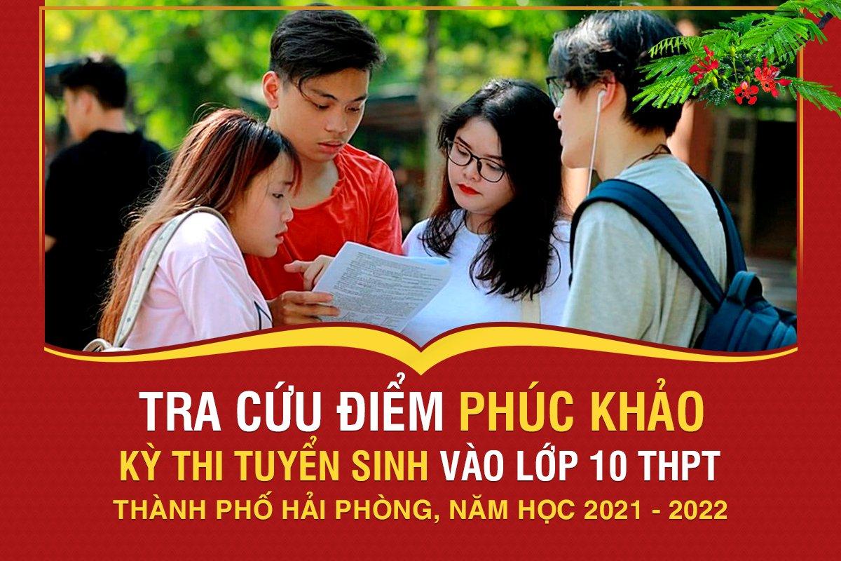 Tra cứu kết quả điểm bài thi sau phúc khảo kỳ thi tuyển sinh vào lớp 10 THPT Năm học 2021 - 2022