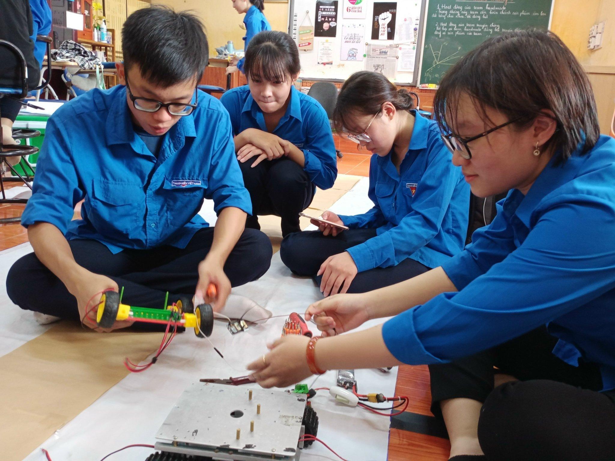 Học sinh việt nam trên đấu trường công nghệ quốc tế