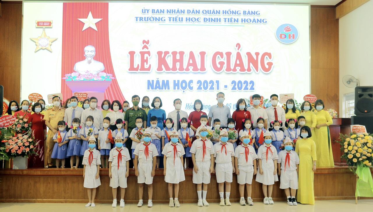 Lễ khai giảng năm học 2021 - 2022